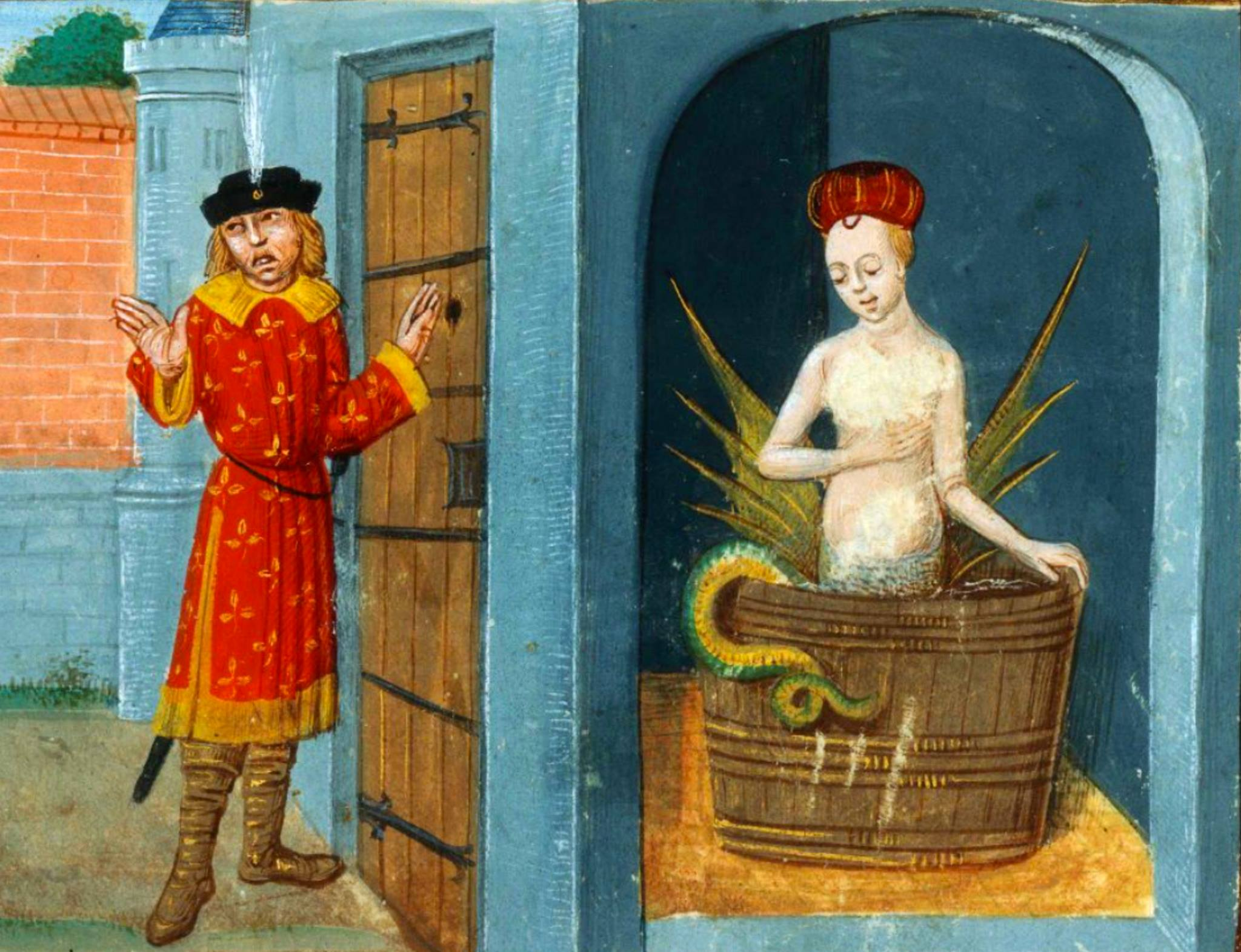 Note despre fabliaux și erotica limbajului